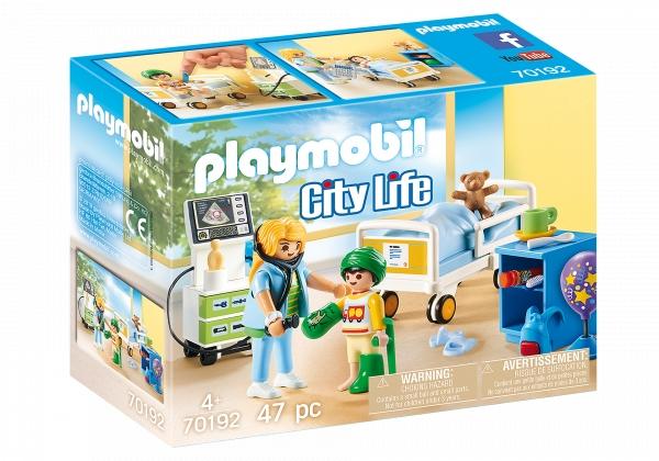 Playmobil City Life: Szpitalny pokój dziecięcy (70192)