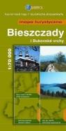 Bieszczady i bukovske vrchy Mapa turystyczna 1:70 000