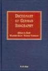 Dictionary of German Biography v 2 W Killy