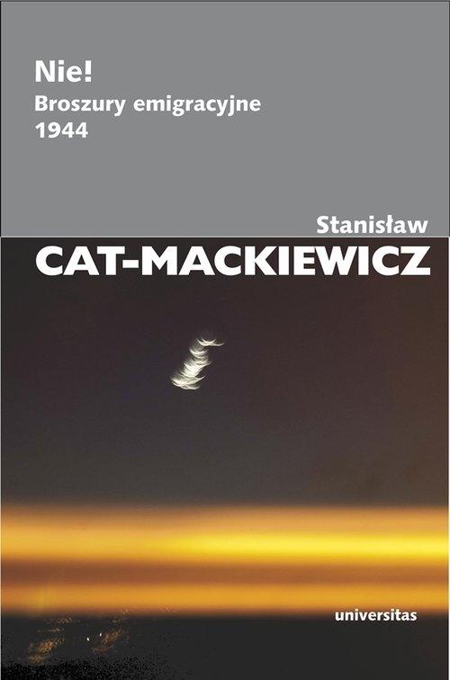Nie! Cat-Mackiewicz Stanisław