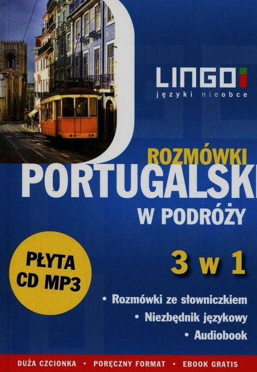 Portugalski w podróży Rozmówki 3 w 1 + CD Dutkowska Alicja