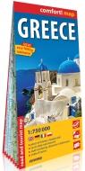 Grecja mapa samochodowo-turystyczna 1:750 000