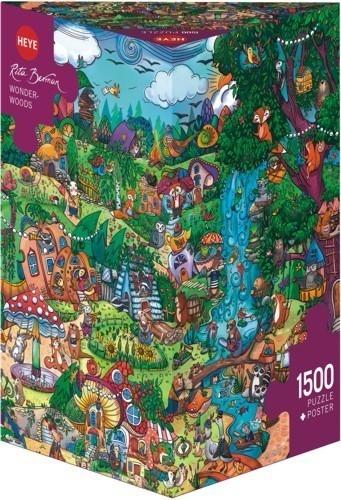 1500 ELEMENTÓW Wspaniały las (29792)