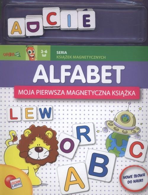 Alfabet Moja pierwsza magnetyczna książeczka