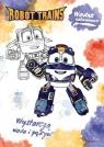 Wodne kolorowanie. Robot Trains