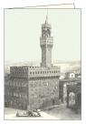 Karnet z kopertą ITW 008 Firenze Piazza Signoria