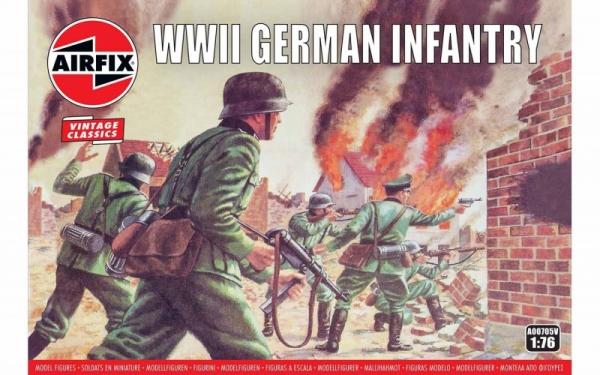 Model plastikowy Niemiecka piechota II Wojna Światowa (00705V)