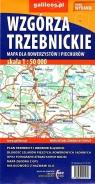 Mapa dla rowerzystów i piechurów - Wzgórza Trzebnickie