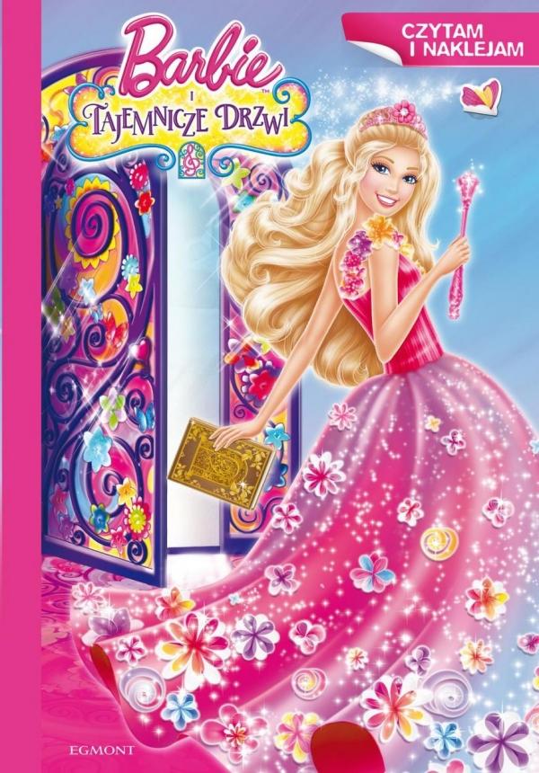 Barbie i tajemnicze drzwi Czytam i naklejam