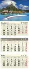 Kalendarz 2021 Trójdzielny Wakacje CRUX