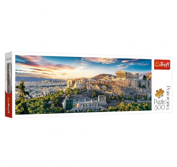 Puzzle 500: Panorama Akropol, Ateny (29503) (Uszkodzone opakowanie)