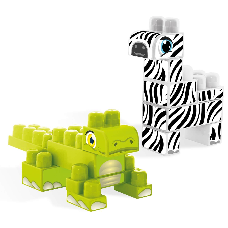 Baby Blocks Safari - klocki krokodyl i zebra (41501)