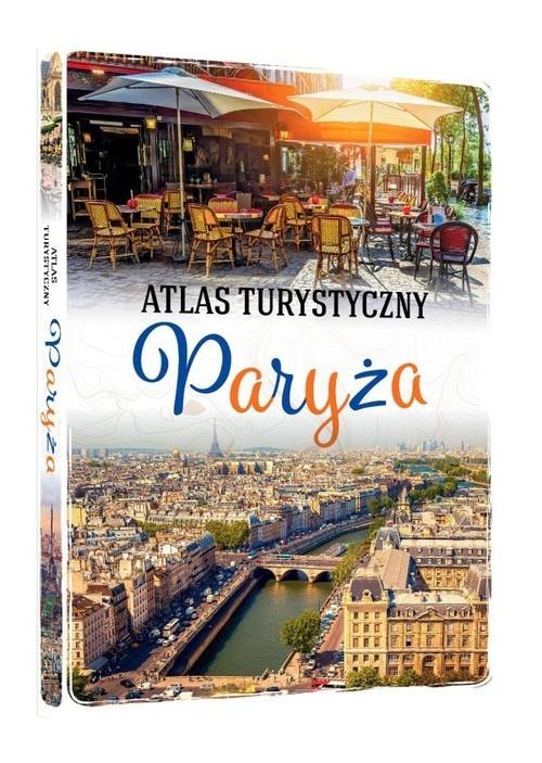 Atlas turystyczny Paryża Krzątała-Jaworska Ewa