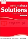 Matura Solutions New Pre-Inter TB
