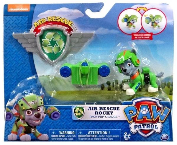 Psi Patrol Powietrzny Figurka z odznaką Rocky (6027031/20071467)