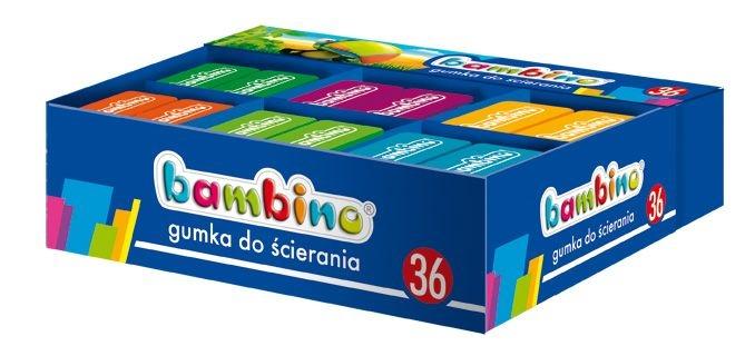 Gumka do ścierania Bambino, 1 szt.