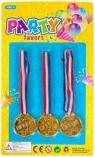 Medale 3 szt.Wiek: 3+