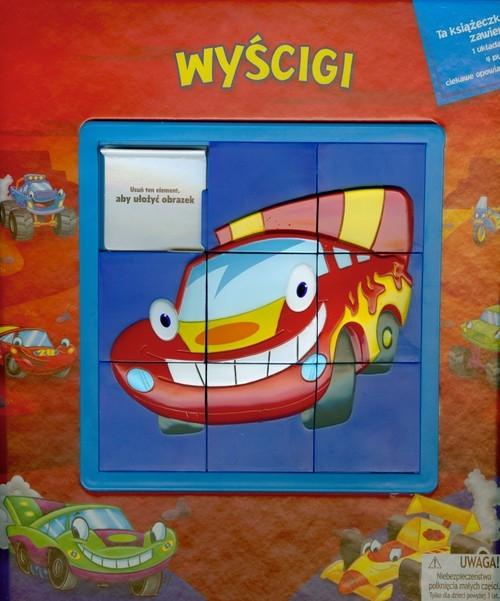 Wyścigi Puzzle 4 elementy