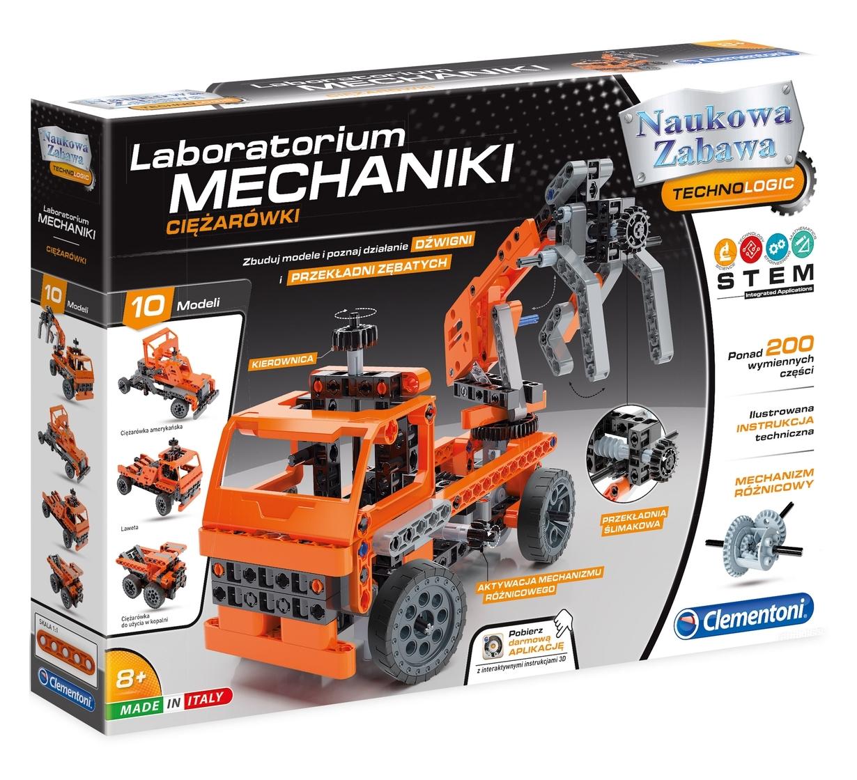 Laboratorium Mechaniki: Ciężarówki (60992)