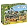 Cobi: Mała Armia. Willys Jeep MB z przyczepą - 24192