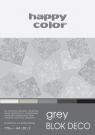 Blok Deco Grey A4/20
