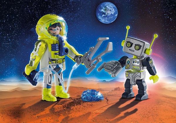 Duo Pack Astronauta i Robot (9492)