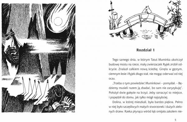 Kometa nad Doliną Muminków Tove Jansson