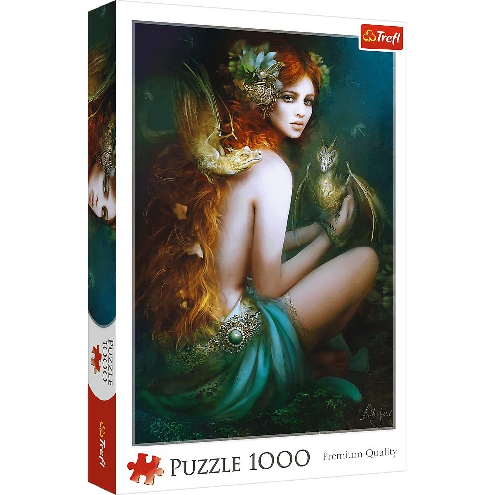 Puzzle 1000: Przyjaciółka smoków (10592)