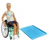 Barbie Fashionistas: Ken na wózku (GWX93)