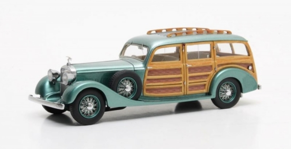 Hispano Suiza K6 Break de Chasse Franay #15121 1937 (green metallic) (MX50806-031)