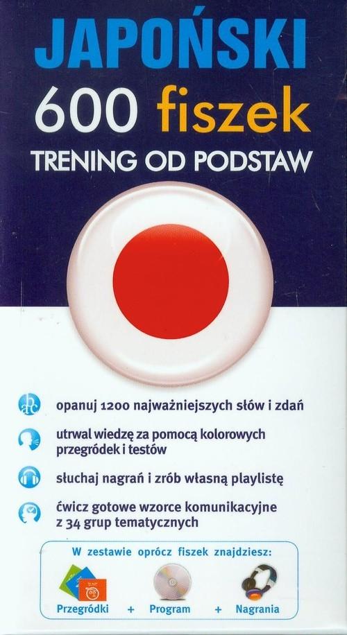 Japoński 600 fiszek Trening od podstaw +CD Klawczyński Adam