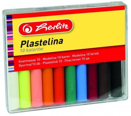 Plastelina Herlitz 10 kolorów (9562927)