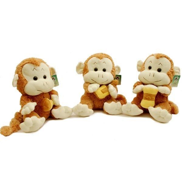 Małpka Grajek 25,5 cm