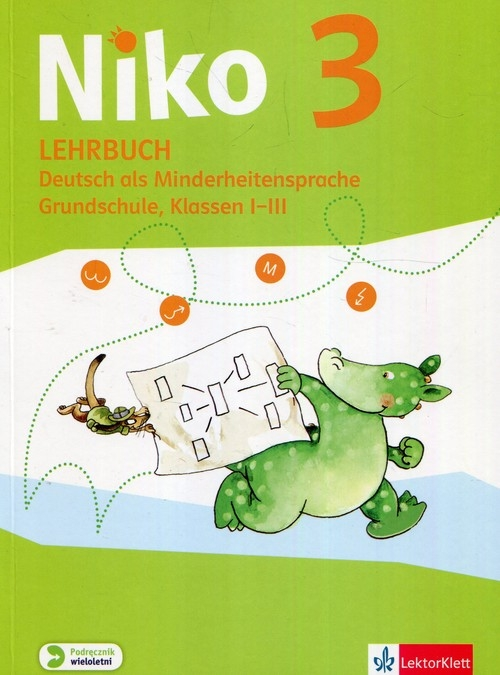 Niko 3 Lehrbuch Deutsch als Minderheitensprache Grundschule klassen I-III Daub Carmen Elisabeth, Rommel Anne, Schmid-Ostermayer Sandra