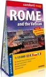 Rzym i Watykan (Rome and the Vatican)  kieszonkowy laminowany plan miasta 1:15 000