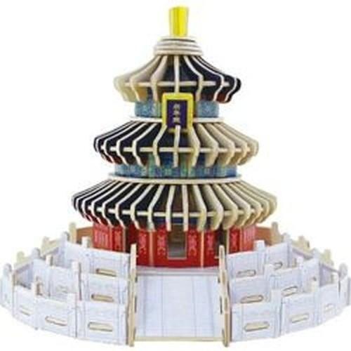 Puzzle Drewniana świątynia Nieba (JPD446)