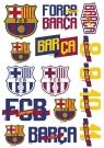 Tatuaże wodne FC-122 FC Barca Fan 4 ASTRA