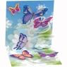 Kartki 3D Butterflies