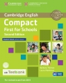 Compact First for Schools Student's Book without Answers + CD with Testbank Thomas Barbara, Matthews Laura