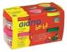 Ciastolina Giotto be-bè, 4 kolory x 100g (464902)