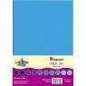 Filc A4/10 arkuszy - tonacja niebieska (345268)