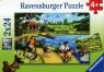 Puzzle Zabawa w parku 2x24 (088928)