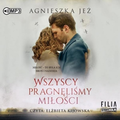 Wszyscy pragnęliśmy miłości audiobook Agnieszka Jeż