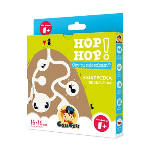 CzuCzu Hop, hop! Czy tu mieszkam? 1+ (CZU039928) Praca zbiorowa