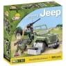 Cobi: Mała Armia. Willys Jeep MB z karabinem maszynowym - 24092
