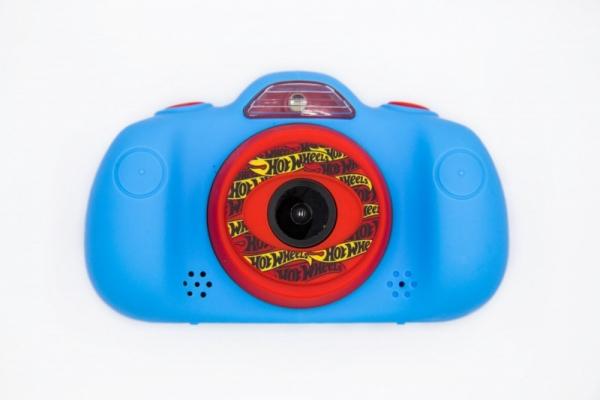Cyfrowy aparat fotograficzny dwa obiektywy Hot Wheels (HT-KIDCAM24-B)