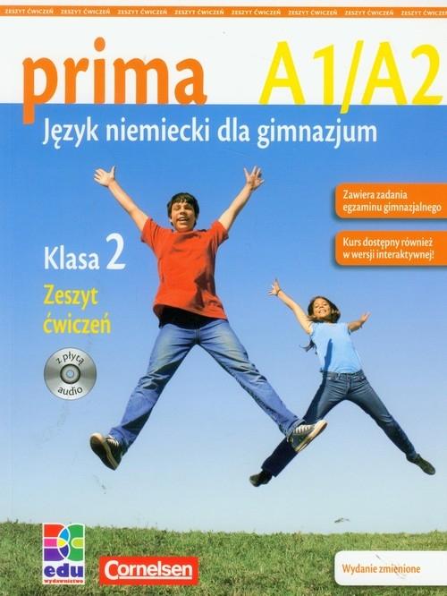 PRIMA 2 Zeszyt ćwiczeń z płytą CD Jin Friederike, Rohrmann Lutz