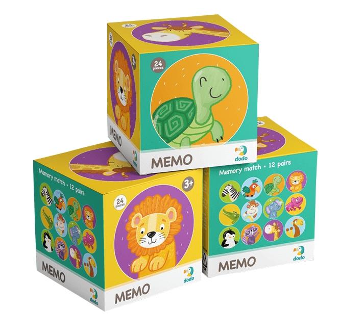 Memo mini - Dzikie zwierzęta