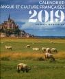 Kalendarz 2019 Język francuski dzień po dniu