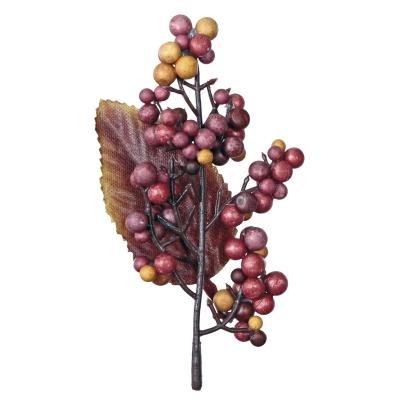 Zestaw dekoracyjny Titanum Craft-Fun Series Kiść jagód z liściem (20608)